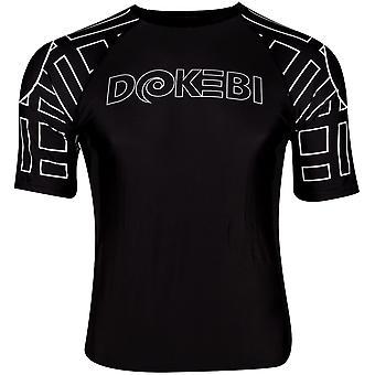 Dokebi Ghost Ranked Short Sleeve MMA Rashguard - Black