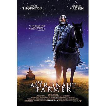 Astronautti maan viljelijä (kaksipuolinen säännöllinen) alkuperäinen elokuva juliste