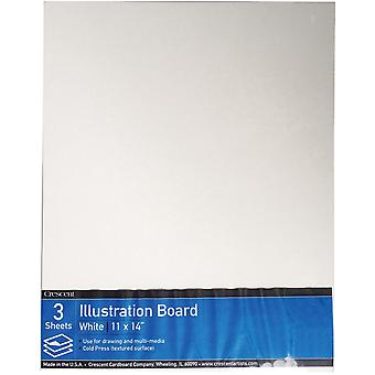 Crescent Illustration Board Value Pack 3/Pkg-11