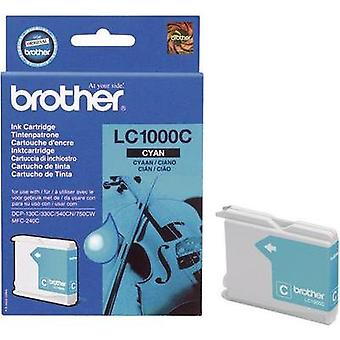 Brother Ink LC - 1000C opprinnelige Cyan LC1000C