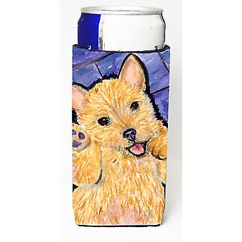Norwich Terrier Ultra Beverage Insulators for slim cans SS8911MUK