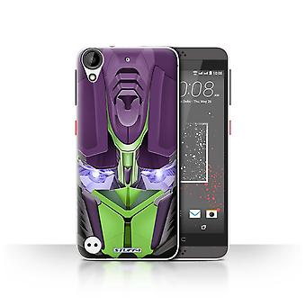 STUFF4 Case/Cover for HTC Desire 530/Opta-Bot Green/Robots