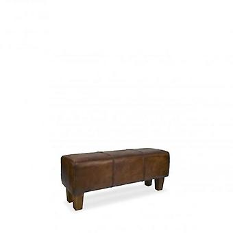 Moycor Braid Leather bench 110x35x45 (Home , Eetkamer , Eetkamerstoelen)