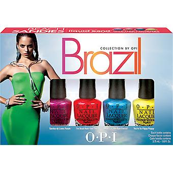OPI Brazil Beach Sandies Mini Liquid Sand Set
