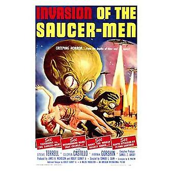 Invasion of the Saucer Men Movie Poster (11 x 17)