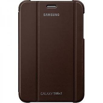 Samsung EFC-1G5SAEC Book Flip Cover Brown for Samsung Galaxy Tab 2 7.0