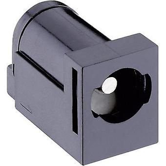 Low power connector Switch contact type: Normally-closed Socket, horizontal mount 5.7 mm 2.35 mm Lumberg 161323 1 pc(s)