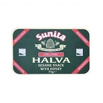 Sunita - Org Plain Honey Halva 75g
