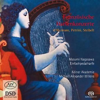 Masumi Nagasawa - Franz Sische Harfenkonzerte: D'Alvimare, Petrini, Steibelt [SACD] Estados Unidos de las importaciones