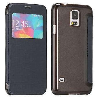Smart Cover Blue Window pour Samsung Galaxy S5 G900F plus G901F