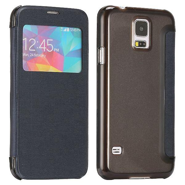 Smart cover window blue for Samsung Galaxy S5 G900F plus G901F