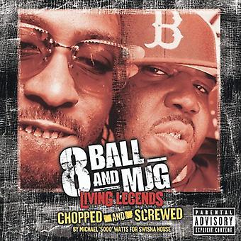 8ball & Mjg - hakket & skruet [CD] USA importerer