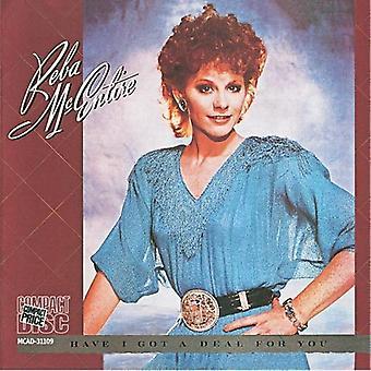 Reba McEntire - har jeg fik en aftale for dig [CD] USA import
