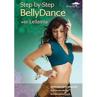 Step-by-Step Belly Dance [DVD] USA import