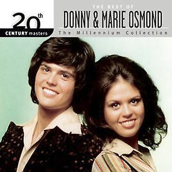 Donny Osmond & Marie - Millennium Collection-20th Century Masters [CD] USA import