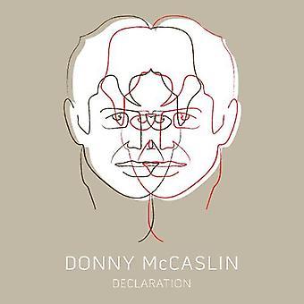 Donny McCaslin - importación de Estados Unidos Declaración [CD]