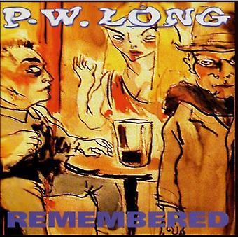 P.W. Long - husket [CD] USA import