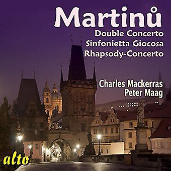 Martinu / Mackerras / Maag - Dubbelkonserten / Sinfonietta Giocosa / Rhapsody [CD] USA import