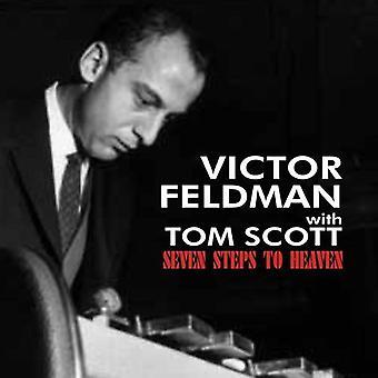Feldman, Victor med Tom Scott - syv trin til himlen [CD] USA import