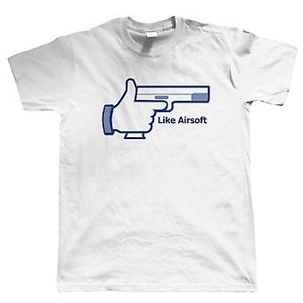 Vectorbomb, Like Airsoft, Mens T Shirt (S to 5XL)