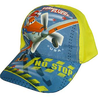 Boys Disney Pixar Planes Dusty Baseball Cap Hat with Adjustable Back
