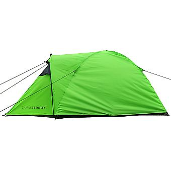 Charles Bentley Two Person Tent & Awning Built: H104 x W150 x L300 cm
