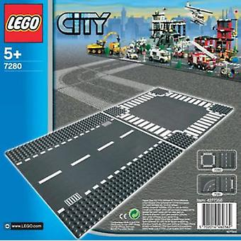 Lego Straight & Crossroad Plates (Toys , Constructions , Characters And Animals)