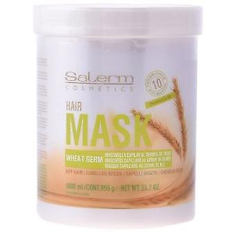 Salerm Wheat Germ Hair Mask 1000ml (Hygiene and health , Shower and bath gel , Masks)