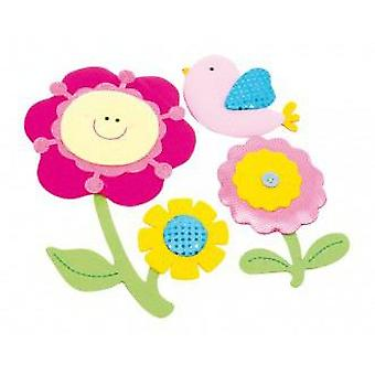 Legler Decorative Stickers  flowers