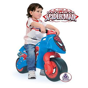 Injusa Spiderman Moto Sin Pedales 69X28X49 (Outdoor , On Wheels , Bikes And Tricycles)