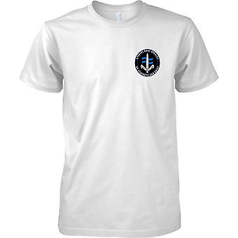 British Special Forces SBS - Special Boat Service - Kids Chest Design T-Shirt