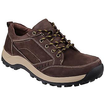 Cotswold Mens Nailsworth Lace Up Perforated Shoes