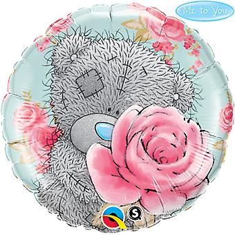 Qualatex Me To You 18 Inch Round Foil Tatty Teddy Roses Balloon