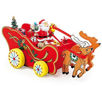 Legler Musical Box Christmas Carriage (Home , Decoration , Christmas , Xmas decorations)