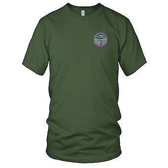 US Army sił specjalnych - 11 Grupa alfa haftowane Patch - koszulki męskie