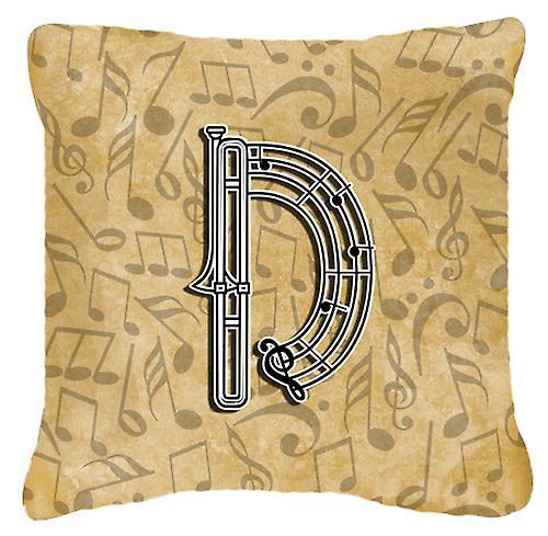 De Instrument Tissu Décoratif D Lettre Toile Oreiller Musique Alphabet wOn0mN8v
