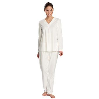 Feraud 3171209-10044 Women's Champagne White Cotton Pyjama Set