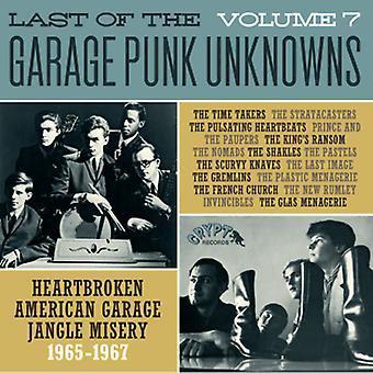Forskellige kunstner - sidste af Garage Punk ubekendte 7 [Vinyl] USA importen