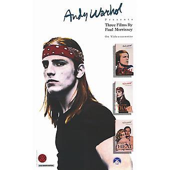 Andy Warhols köttet filmaffisch (11 x 17)