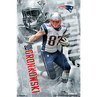 New England Patriots - R Gronkowski 14 Poster Print