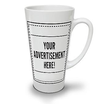Advertisement Here Funny NEW White Tea Coffee Ceramic Latte Mug 17 oz | Wellcoda