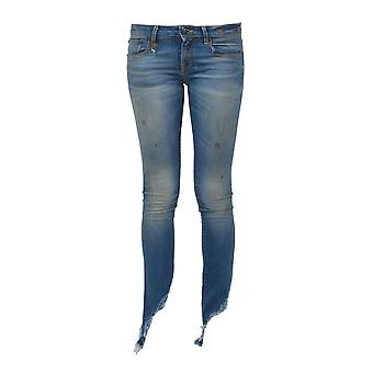 R13 women's R13W4022530BRANSON Blau cotton of jeans