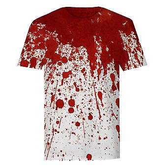 The T-Shirt Factory Mens Bloody Neck T-Shirt