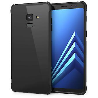 Samsung Galaxy A8 (2018) Alpha TPU Gel Case - Black