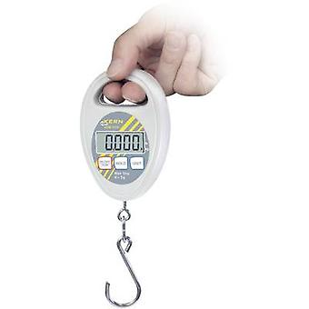 Hanging scales Kern Weight range 5 kg Readability 5 g