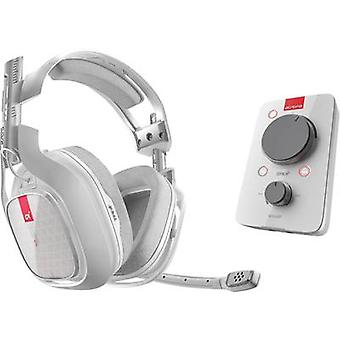 Gaming headset 3.5 mm jack Corded, Stereo Astro Gaming A40 TR Headset Over-the-ear White