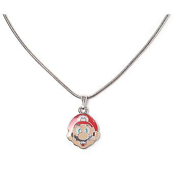 Super Mario Necklace Mario Face gamer new Official Nintendo