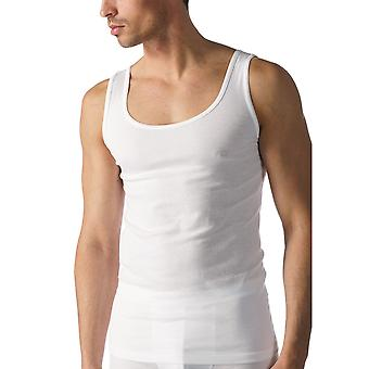 Mey 49000 Men's White Casual Cotton Tank Vest Top
