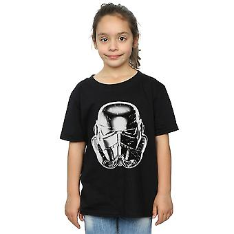 Star Wars Girls Stormtrooper Warp Speed Helmet T-Shirt
