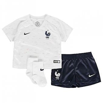 2018-2019 Francia Nike Away Baby Kit